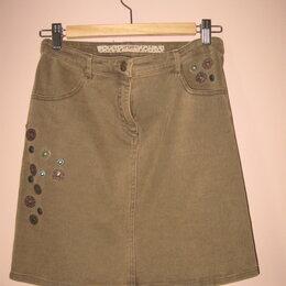 Юбки - Ungaro оригинал джинсовая юбка р.42-44, 0