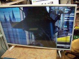 Телевизоры - №215`LG 43UH619V-ZC,матрица повреждена, на…, 0