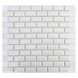 Мозаика - Мозайка WHITE BAR 300*300 мм 1/20, 0