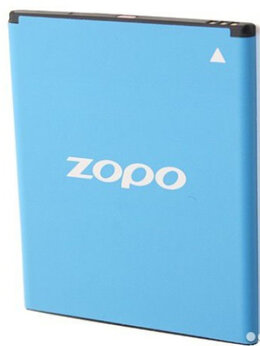 Аккумуляторы - Оригинальный 2400 мАч аккумулятор для zopo ZP998, 0