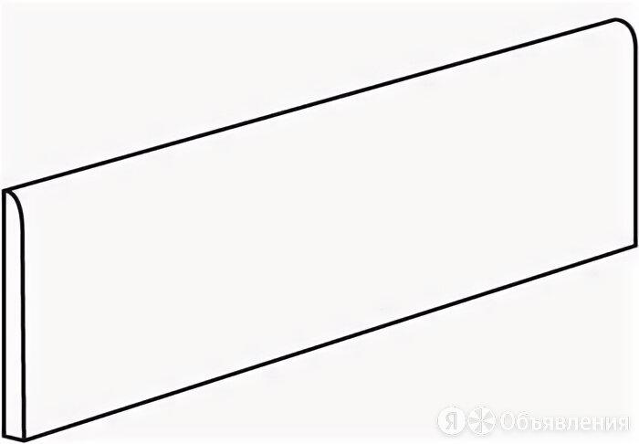 LEONARDO Factory Battiscopa White Nat Rett 6X60 по цене 720₽ - Плитка из керамогранита, фото 0