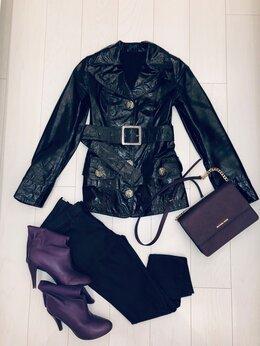 Куртки - Кожаная куртка Mariacchi, 0