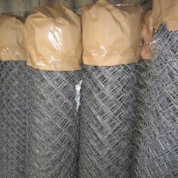 Заборчики, сетки и бордюрные ленты - Сетка рабица оцинкованная Пучеж, 0