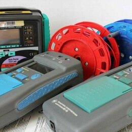 Электроустановочные изделия - Электролаборатория.Измерение сопротивления изоляци., 0