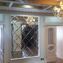Зеркала - Зеркальное панно в багетной раме, 0