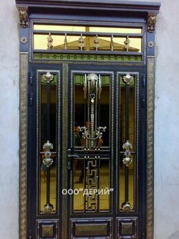 Входные двери - Кованая дверь , 0