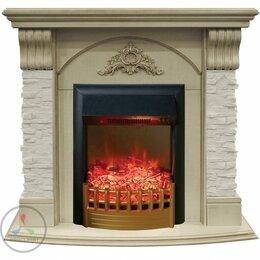 Камины и печи - Каминокомплект Real-flame Athena STD/EUG с Rimini, 0
