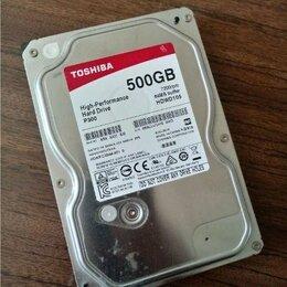 Внутренние жесткие диски - Жесткий диск toshiba 500Gb P300 hdwd105, 0