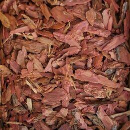 Субстраты, грунты, мульча - Кора лиственницы средняя фр. 3-5 см в мешках по 60л, 0
