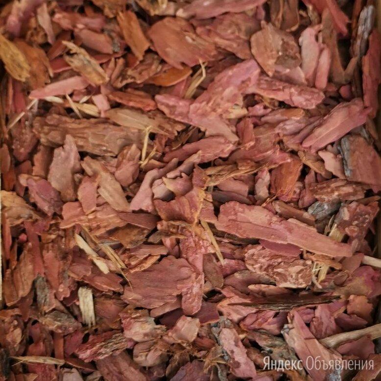 Кора лиственницы средняя фр. 3-5 см в мешках по 60л по цене 280₽ - Субстраты, грунты, мульча, фото 0