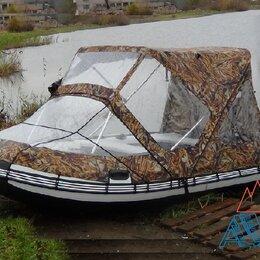 Аксессуары и комплектующие - Тент-трансформер Комби ходовой для лодок пвх от 3.7 до 3.9 м, 0