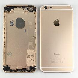 Корпусные детали - Корпус для Apple iPhone 6S Plus золотой, 0