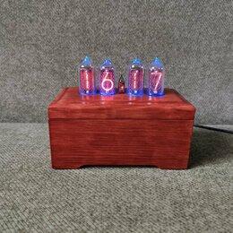 Часы настольные и каминные - Ламповые часы на газоразрядных индикаторах ин-8-2/ИН14 с RGB, 0