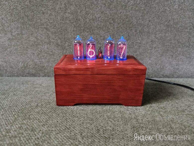Ламповые часы на газоразрядных индикаторах ин-8-2/ИН14 с RGB по цене 7000₽ - Часы настольные и каминные, фото 0