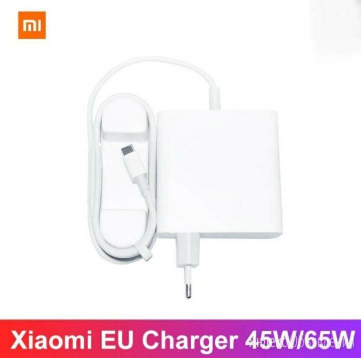 Зарядное устройство Xiaomi Mi Laptop Charger 65W по цене 2499₽ - Зарядные устройства и адаптеры, фото 0