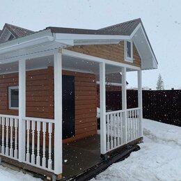 Готовые строения - Дачный домик (бытовка) с навесом., 0