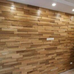 Мозаика - Стеновая панель - деревянная мозаика 3D, 0