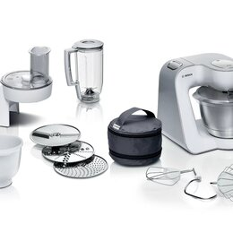 Кухонные комбайны и измельчители - Кухонный комбайн Bosch MUM 58234, 0