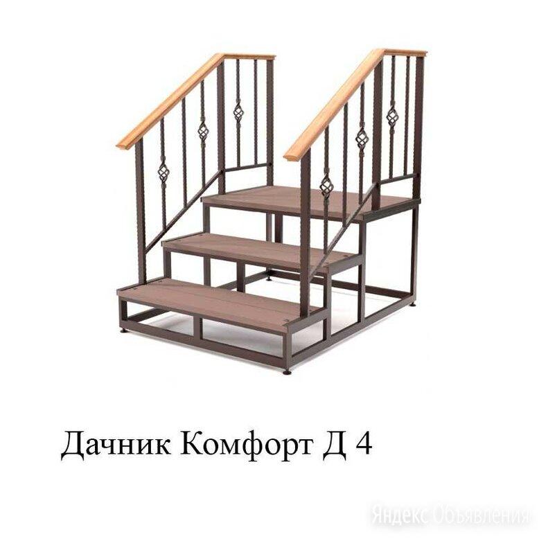 Лестница приставная ДАЧНИК КОМФОРТ Д 4  по цене 26000₽ - Лестницы и элементы лестниц, фото 0