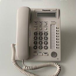 Системные телефоны - Panasonic KX-NT321 - IP телефон, белый. Б/у в наличии, 0