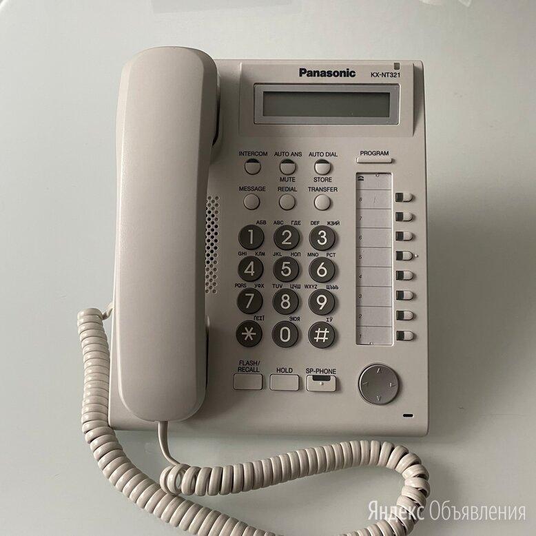 Panasonic KX-NT321 - IP телефон, белый. Б/у в наличии по цене 3000₽ - Системные телефоны, фото 0