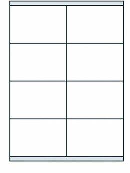 Бумага и пленка - Этикетки самокл A4 1 шт прозрачные Labels Clear…, 0
