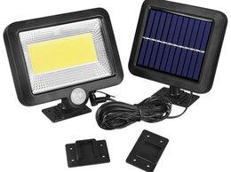 Уличное освещение - Светодиодный прожектор с датчиком движения на…, 0
