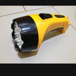 Фонари - Фонарь аккумуляторный очень хороший новый, 0