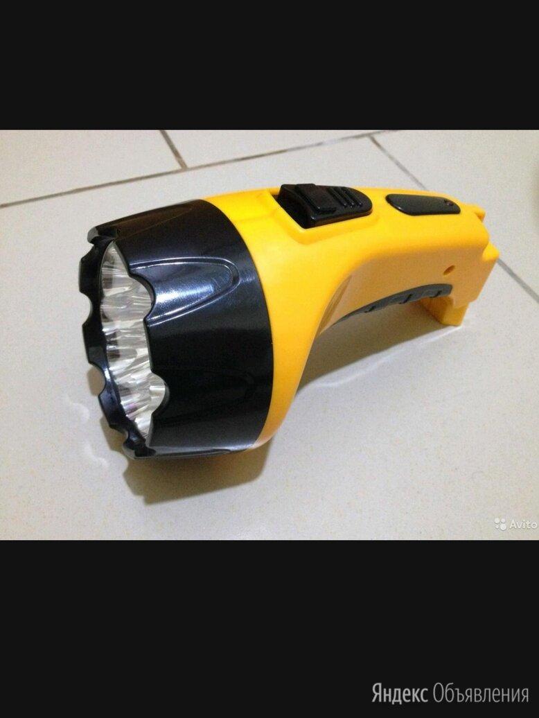 Фонарь аккумуляторный очень хороший новый по цене 200₽ - Фонари, фото 0