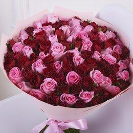 Цветы, букеты, композиции - 101 роза. Букет №165, 0