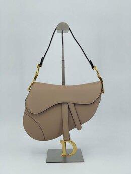 Сумки - Женская сумка Christian Dior Saddle бежевая…, 0