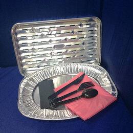Одноразовая посуда - Алюминиевые формы набор Гриль, 13 шт арт.3952, 0