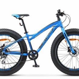 Велосипеды - Велосипед Stels Aggressor D 26' V010  (FAT) /синий, 0