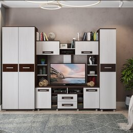 Шкафы, стенки, гарнитуры - Стенка Вега М6 М7 М9, 0
