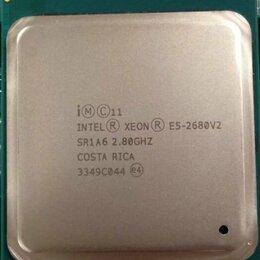 Процессоры (CPU) - 10-ядерный (20 потоков!) XEON 2680v2 (2.8-3.6 MHz), L3 кэш - 25 MB !!!, 0