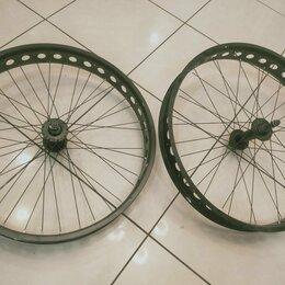 Обода и велосипедные колёса в сборе - Колёса фэтбайка новые, 0