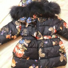 Куртки и пуховики - Куртка зимняя на девочку 98 размер на 3-5 лет, 0
