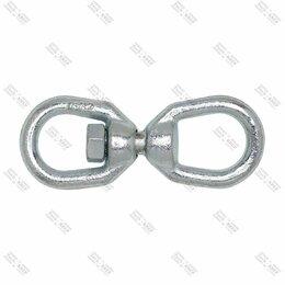Кольца и перстни - Вертлюг открытый конец-кольцо М10 1/80шт, 0