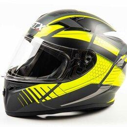 Мотоэкипировка - Шлем мото интеграл GTX 578 (XL) #1 BLACK/YELLOW GREY, 0