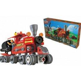 Детские железные дороги и автотреки - 100142856 Паровозик вездеход /S+S/, 0