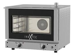 Жарочные и пекарские шкафы - Печь конвекционная Inoxtec OV4F-B, 0