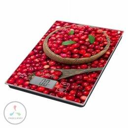 Кухонные весы - Весы кухонные Lumme LU-1342 брусничая россыпь, 0