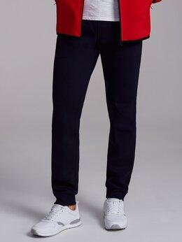 Брюки - Мужские утепленные спортивные брюки с манжетами…, 0