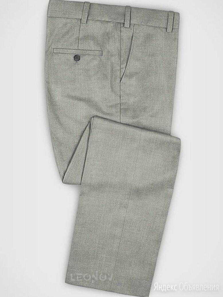 Деловые светло-серые брюки из шерсти – Zegna по цене 23990₽ - Брюки, фото 0