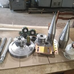 Дровоколы - Комплектующие для сборки дровокола с насадкой 2х заходной резьбой ст45, 0