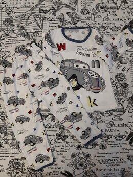 """Домашняя одежда - Детская пижама """"МАШИНКА"""" для мальчиков, цвет:…, 0"""