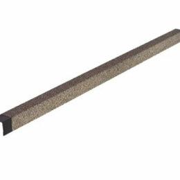Отделочный профиль, уголки - HAUBERK уголок металлический внешний серо-бежевый, 0