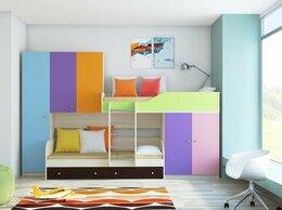 Кровати - Детская Двухъярусная кровать ЛЕО мультиколор, 0