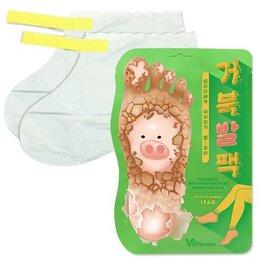 Маникюрные и педикюрные принадлежности - Отшелушивающая маска-носочки для ног ELIZAVECCA Witch Piggy Hell-Pore Turtle..., 0