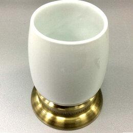 Мыльницы, стаканы и дозаторы - Стакан керамика Retro Classic R-22, 0